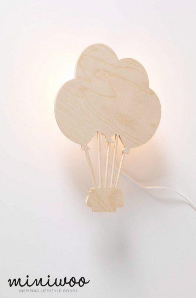 Miniwoo MIMO 113 1002 Lamp Hot Air Balloon wall lamp Low Res 676x1024 - Miniwoo, leuke houten kindermeubels