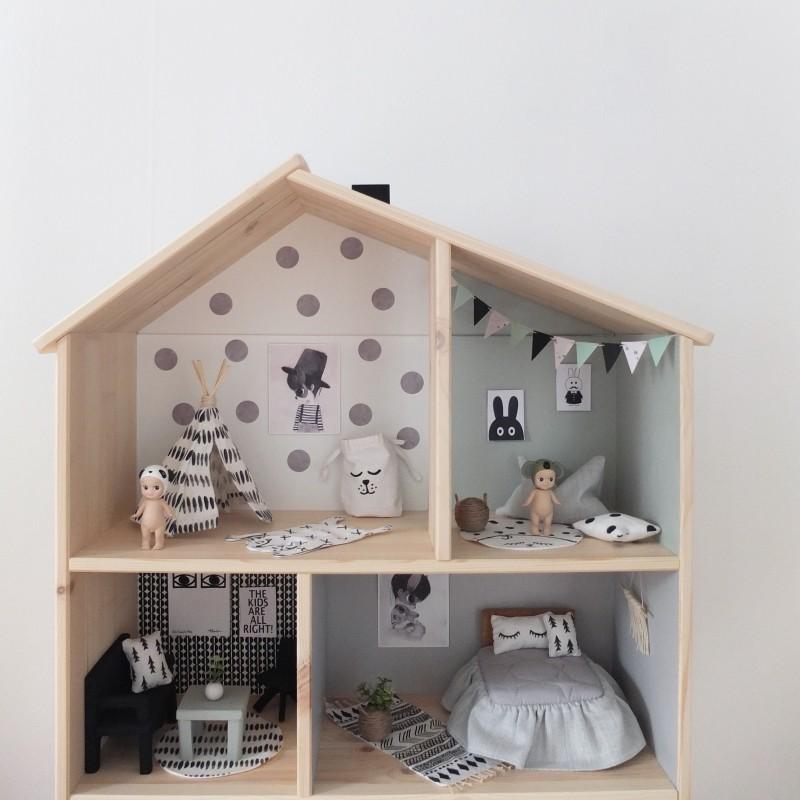 Modern interior painting ideas - Ikea Dollhouse Diy A Beautiful Home Unicorns Amp Fairytales