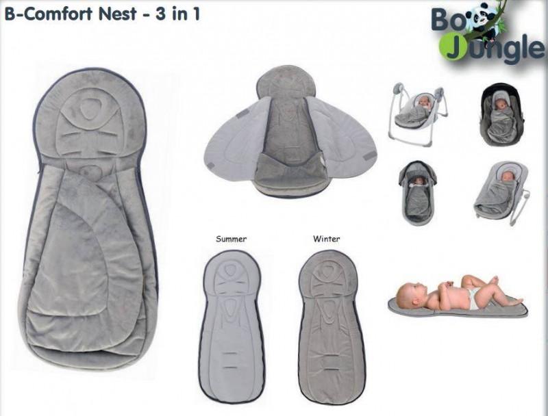 bojungle b comfort nest wikkeldeken - 10x Baby musthaves om heerlijk te slapen
