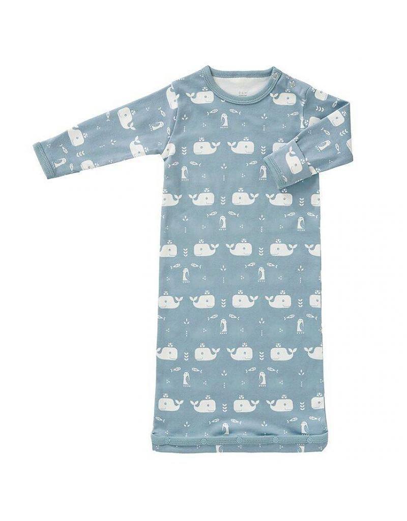 fresk katoenen slaapzak met zachtblauwe walvisjes 800x1024 - Webshoptip   Little Stars