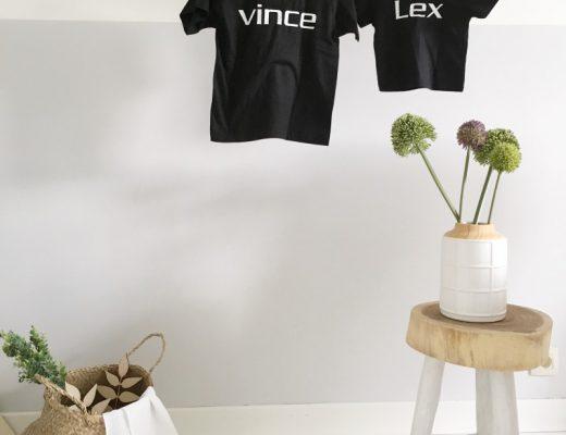 FullSizeRender 894 520x400 - DIY | zelf shirts maken voor grote en kleine broer