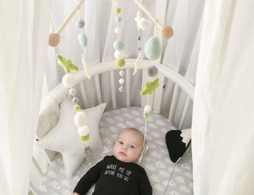 DIY baby mobiel - unicorns & fairytales