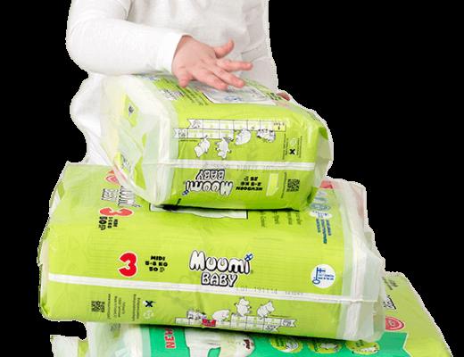 Muumi kindje 2 520x400 - Getest: Ecologische Muumi baby luiers + WIN