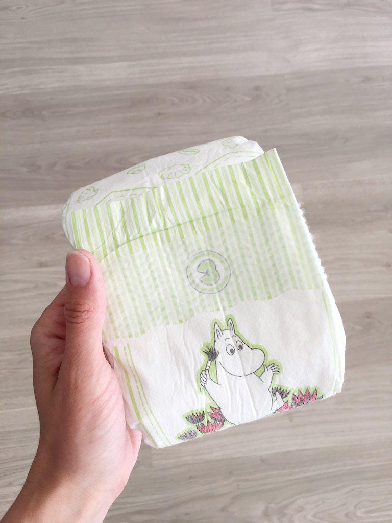 ecologische luier 768x1024 - Getest: Ecologische Muumi baby luiers + WIN