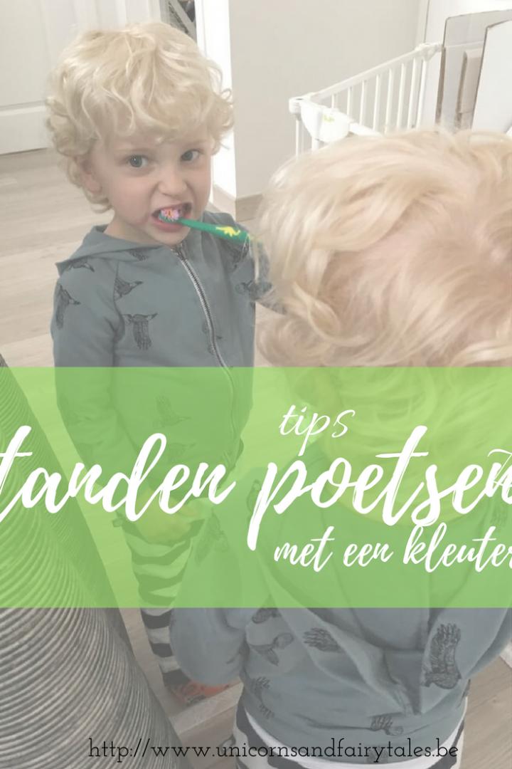 tanden poetsen - unicorns & fairytales
