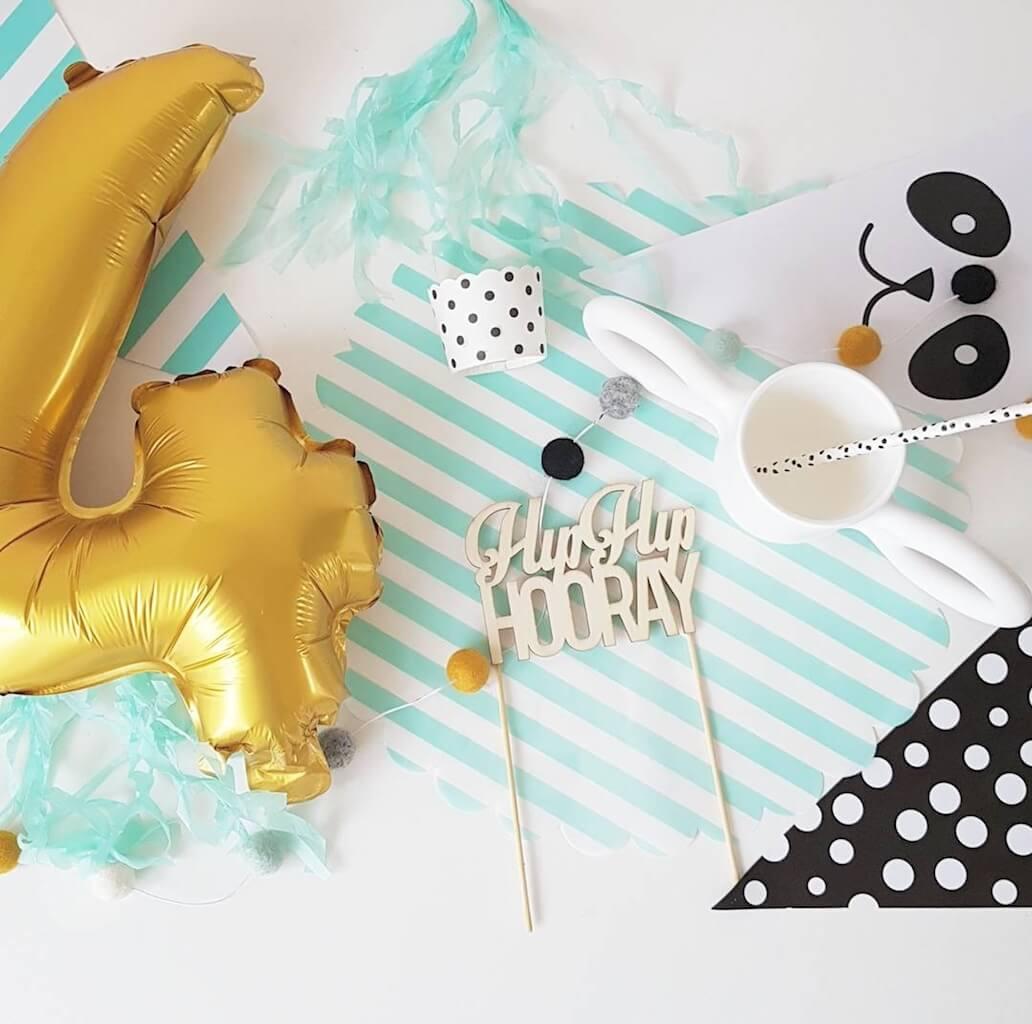 DIY birthday party - unicorns & fairytales