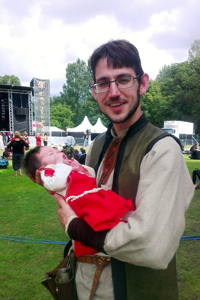 festival baby 2 - Met je baby naar een festival? Enkele tips