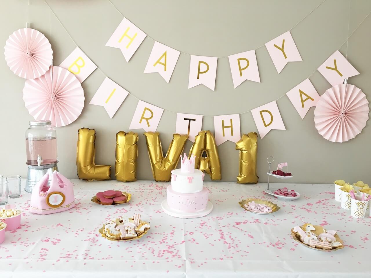 verjaardagsfeestje Liva - unicorns & fairytales