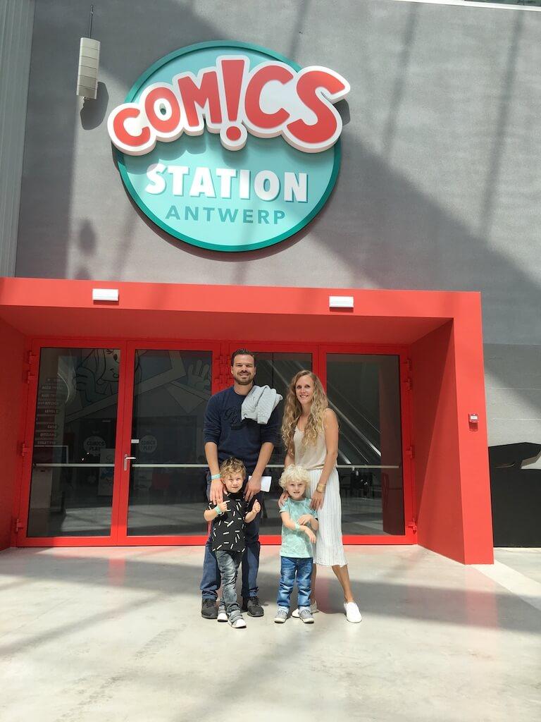 comics station 2 - Diary 96   Zomeractiviteiten met de kinderen