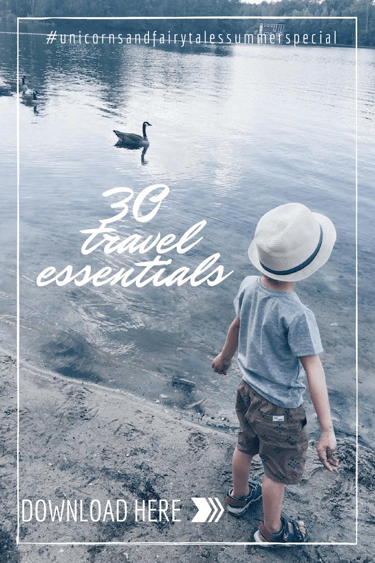 travel essentials - unicorns & fairytales