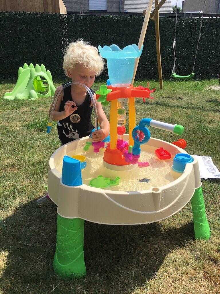 watertafel little tikes fontein - Diary 96   Zomeractiviteiten met de kinderen