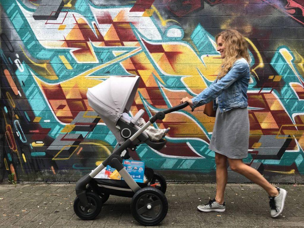 kinderwagen stokke trailz 2 1024x768 - Hoeveel kost een babyuitzet gemiddeld?