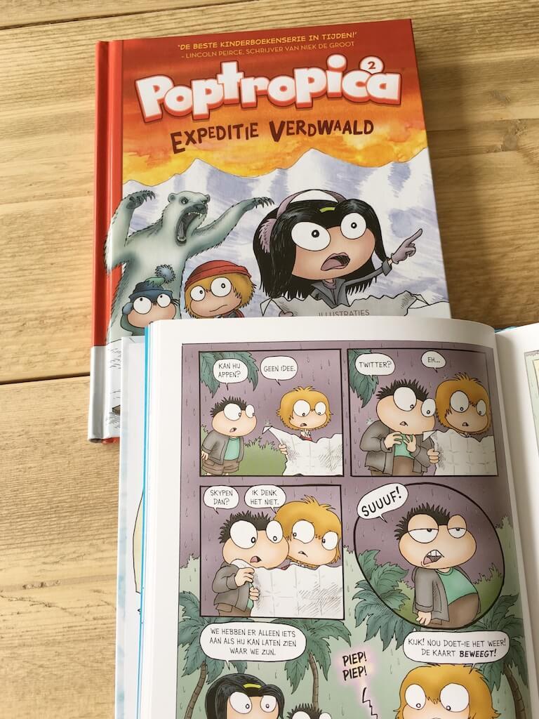 poptropica 3 - Poptropica, een virtuele wereld én boekenserie