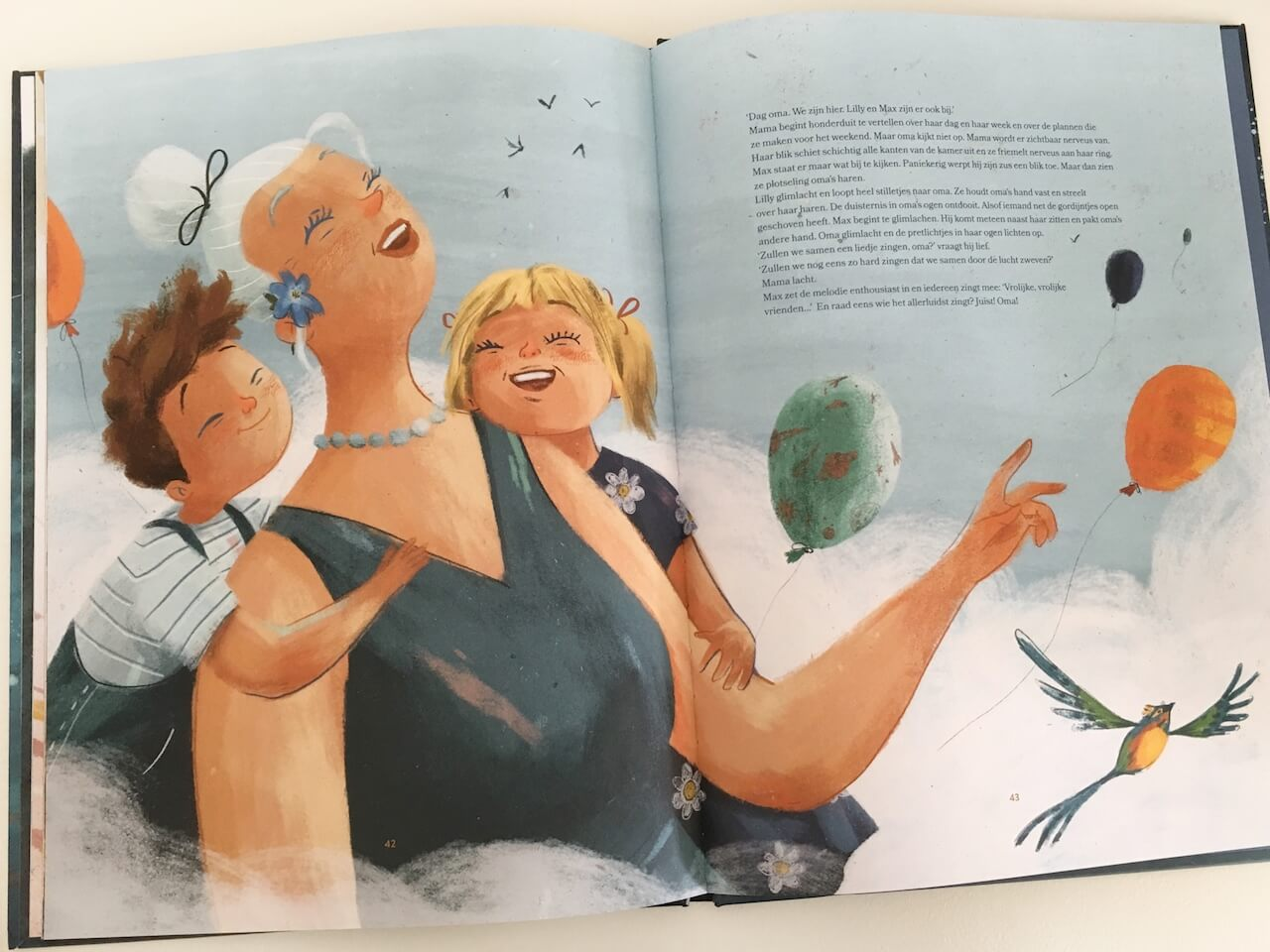 FullSizeRender 177 - Wondermooi boek voor kinderen over Alzheimer