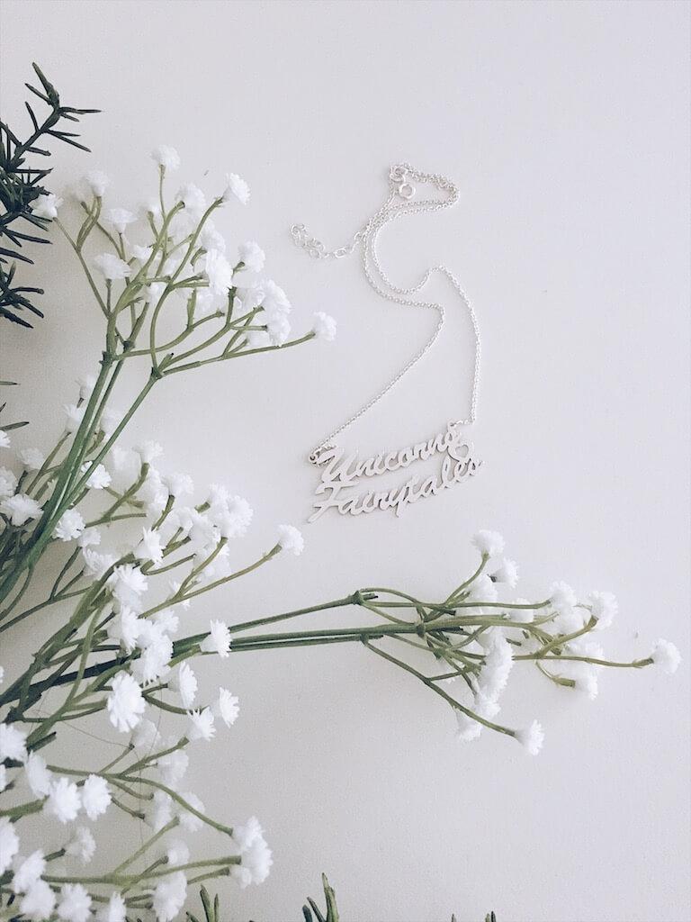naamketting - unicorns & fairytales