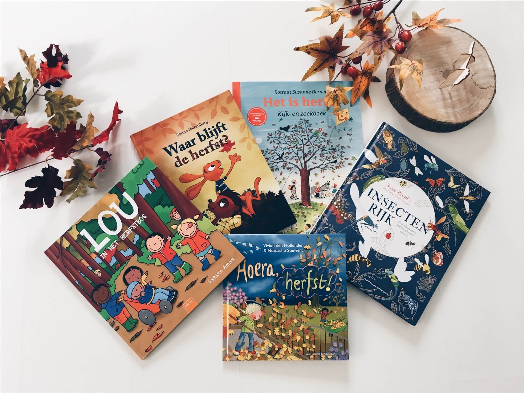 boeken thema herfst - unicorns & fairytales