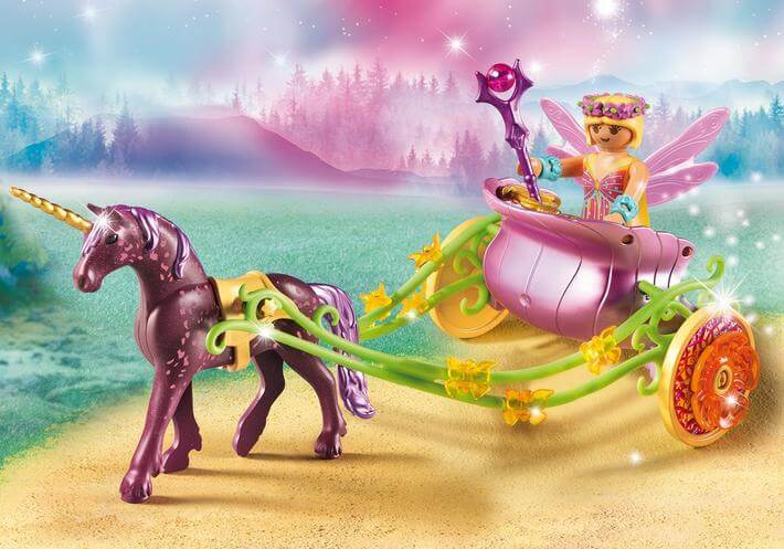 bloemenfee playmobil - unicorns & fairytales