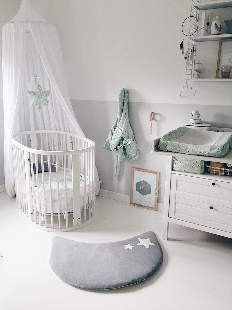 roomtour babykamer - unicorns & fairytales