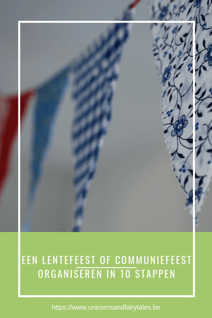 communiefeest of lentefeest organiseren - unicorns & fairytales