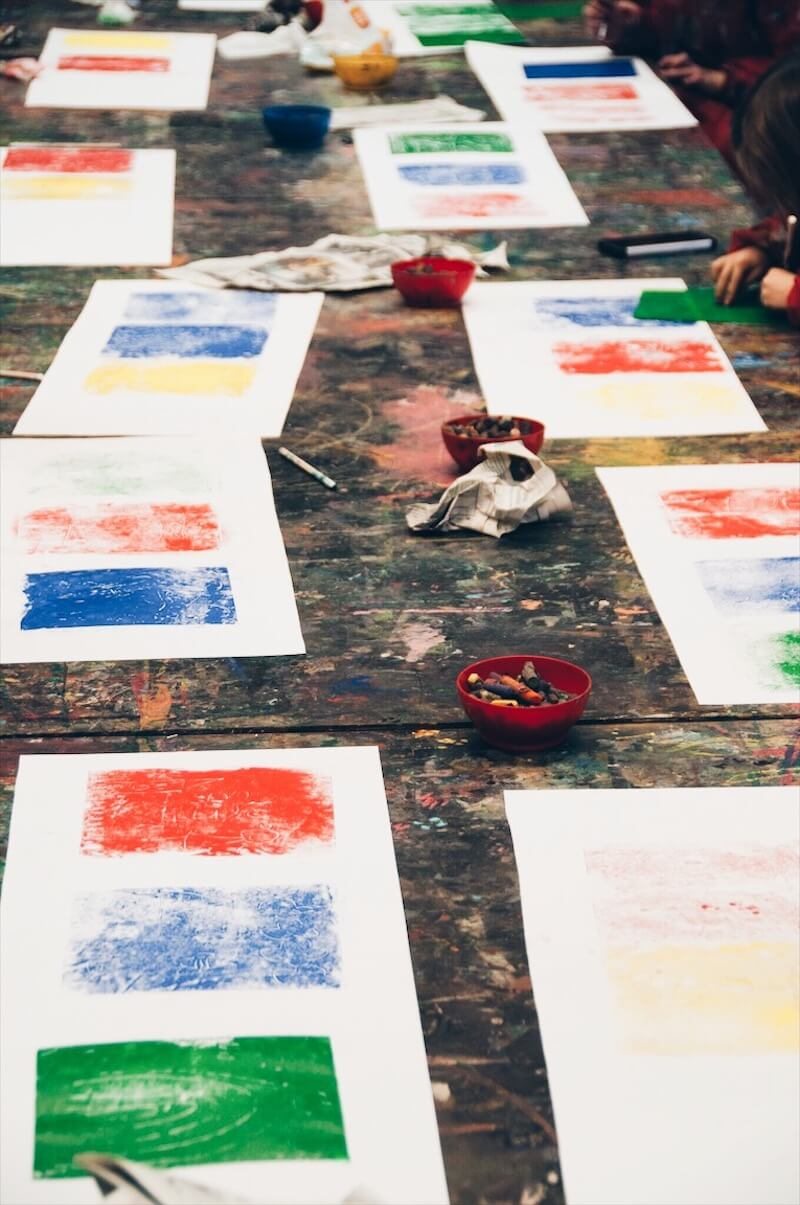 CC5C2631 12FE 48EE 8AA7 F05721573339 - DIY / Drukkunst met kinderen en een museumbezoek