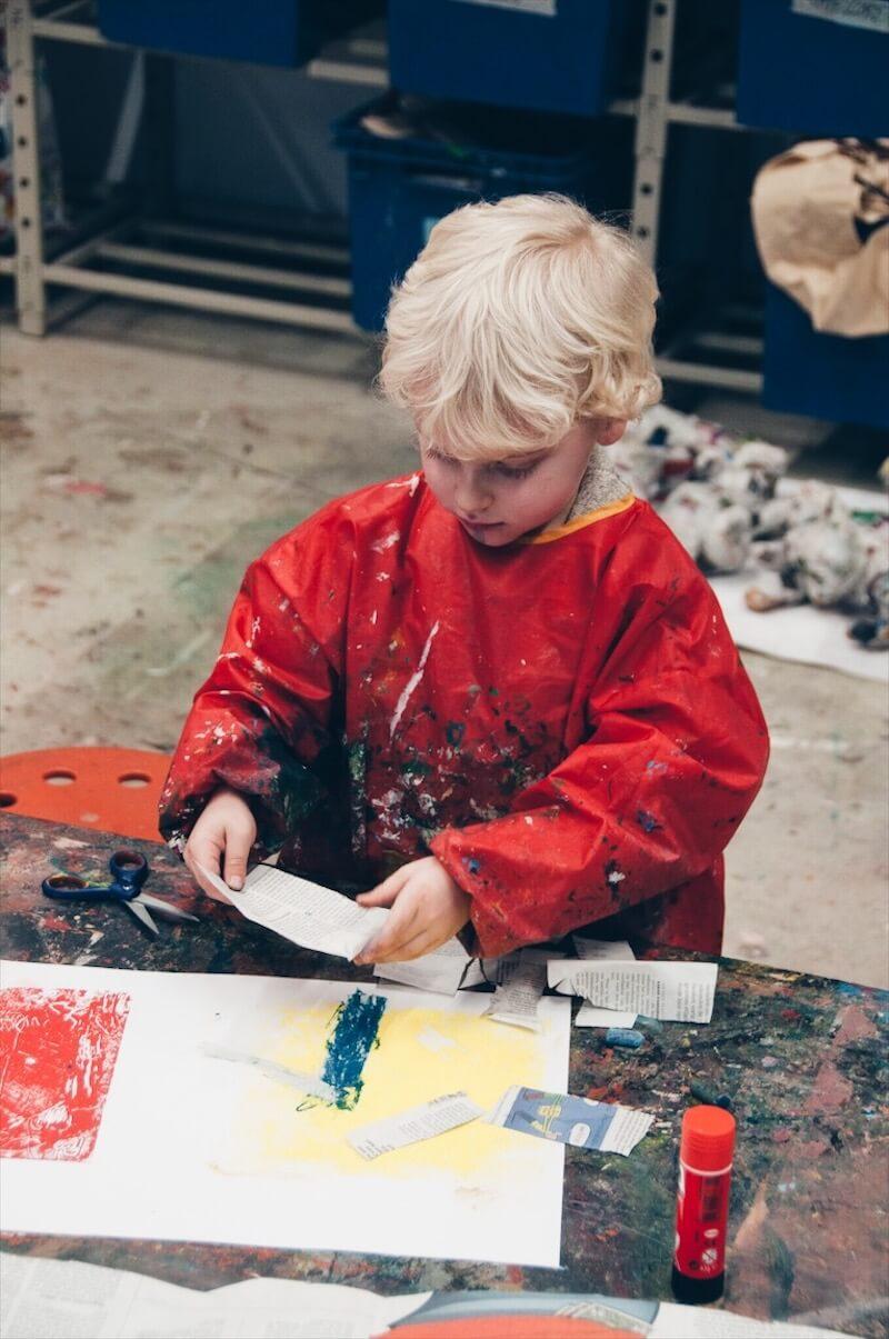 D851CD2C F849 40D2 AC8A 6C30B07DAF8B - DIY / Drukkunst met kinderen en een museumbezoek