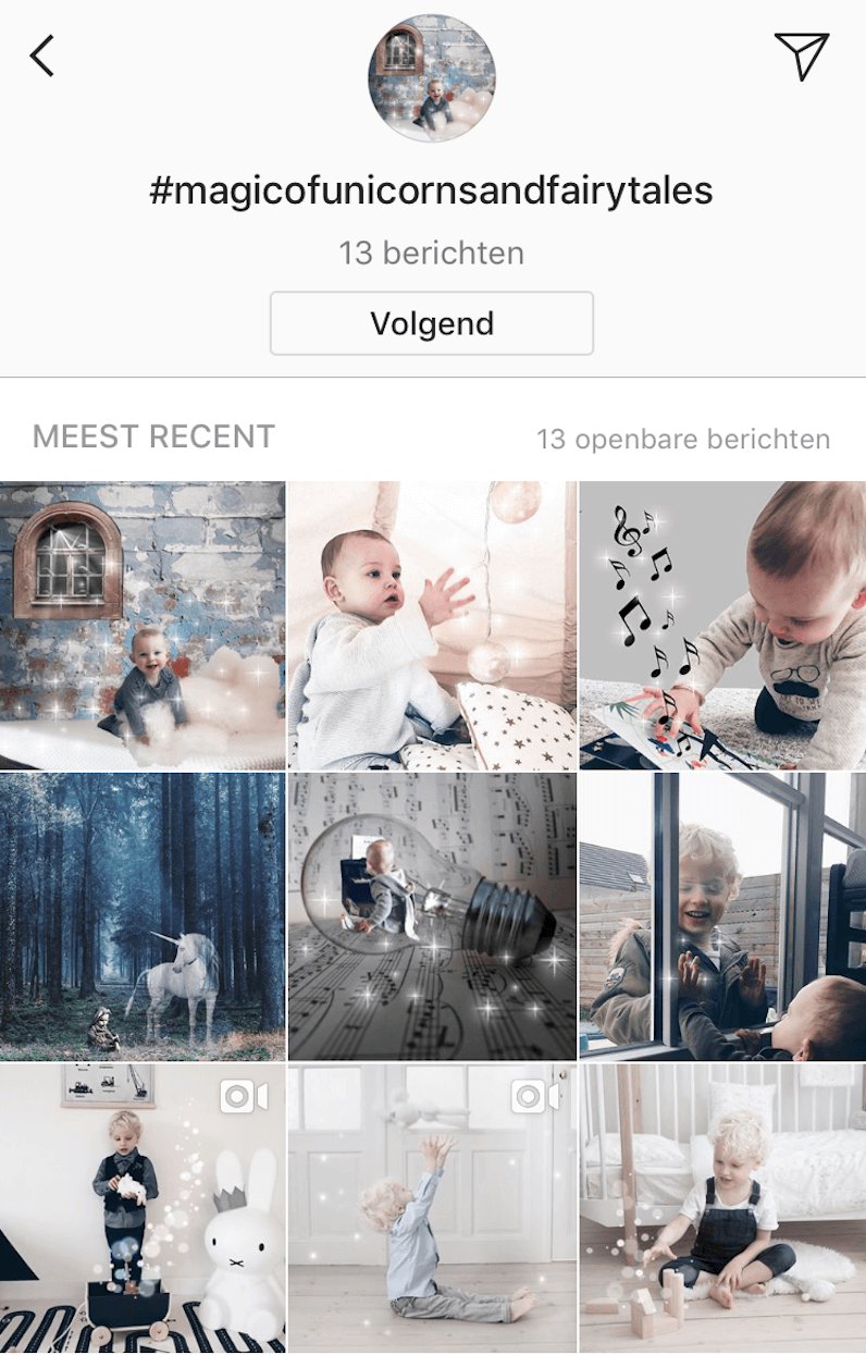 instagram - unicorns & fairytales
