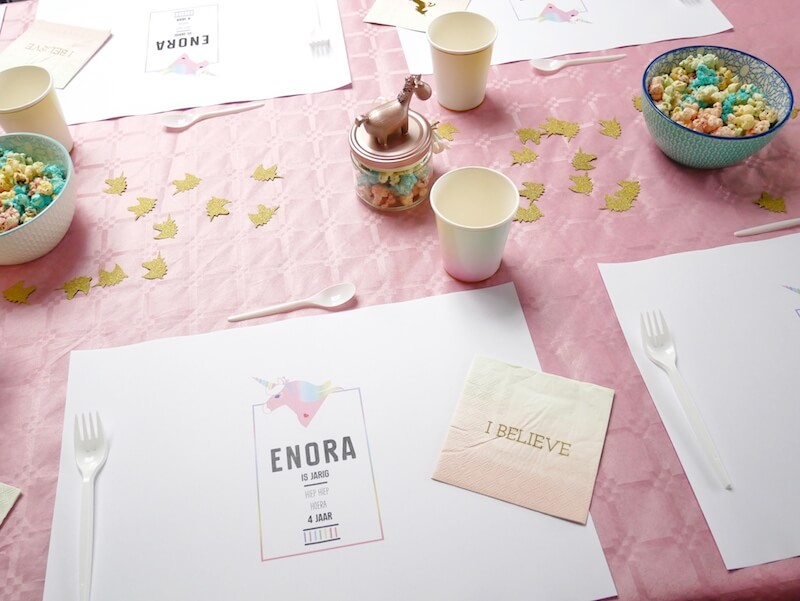image1 - Unicorn birthday party van Enora !