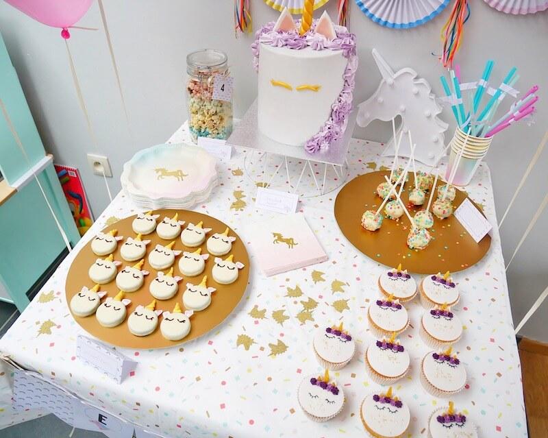 image2 - Unicorn birthday party van Enora !