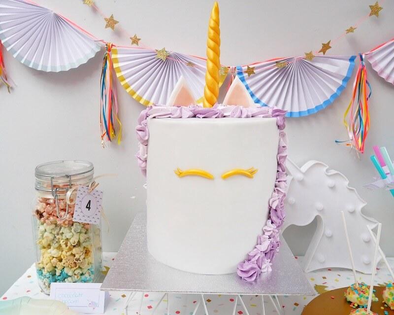unicorn birthday party - unicorns & fairytales