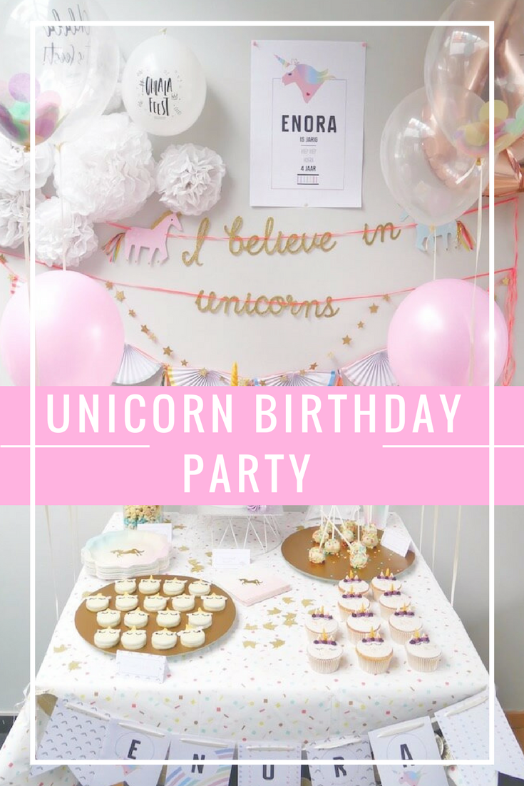oatmeal cookies 2 - Unicorn birthday party van Enora !