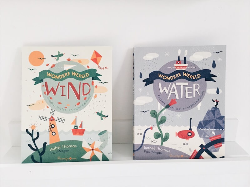 boeken thema water en wind - unicorns & fairytales