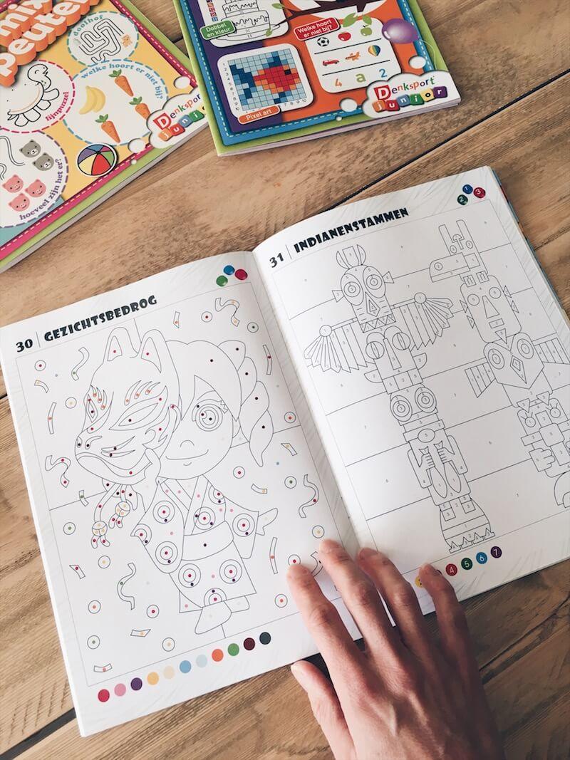 puzzelboeken voor kinderen - unicorns & fairytales