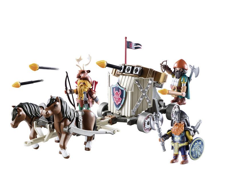 wl800hp600q85 PLAYMOBIL 9341 Horse Drawn Ballista 2 - Win 3x een leuke Playmobil dwergen set