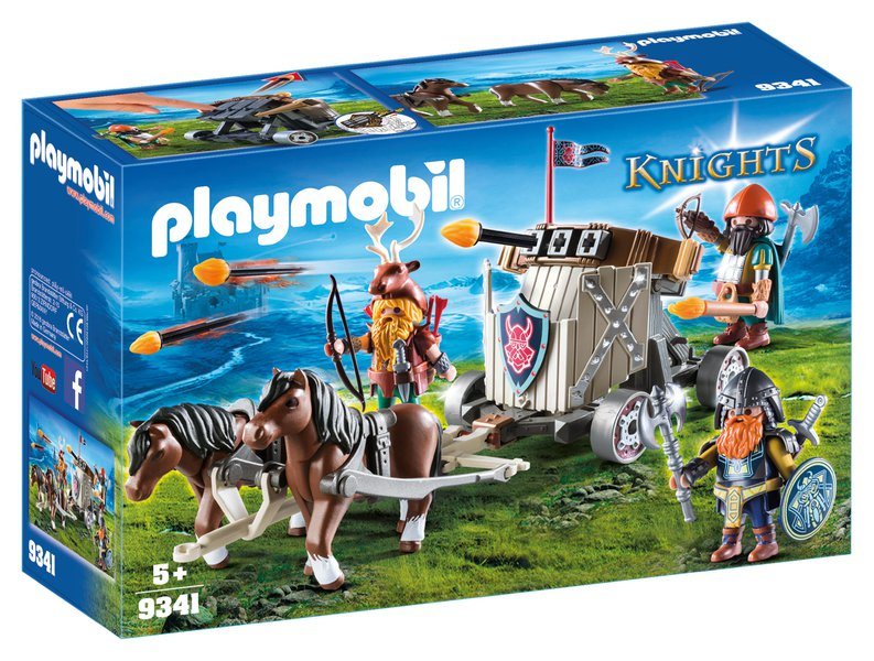 playmobil dwergen - unicorns & fairytales