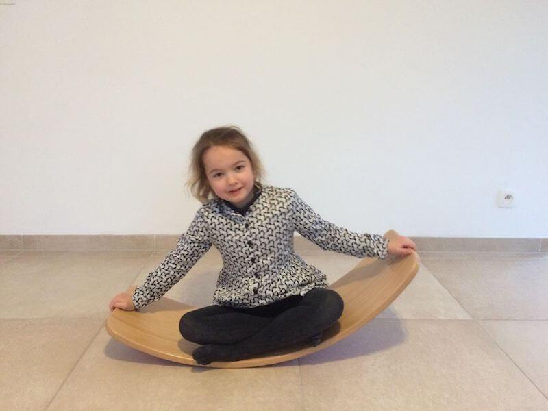 oefeningen met het wobbelboard - unicorns & fairytales