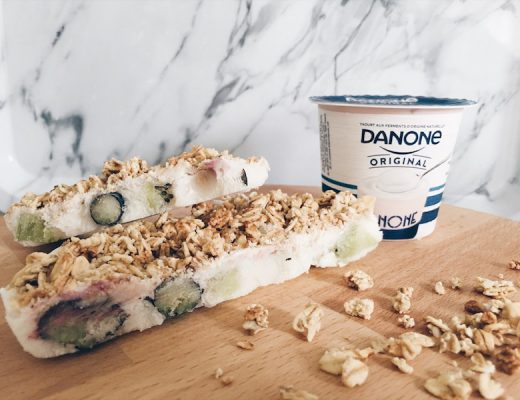 frozen yoghurt granola bar - unicorns & fairytales