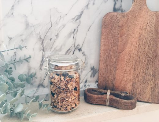 homemade granola - unicorns & fairytales