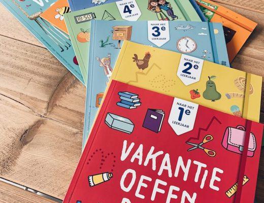 vakantie oefenboeken - unicorns & fairytales