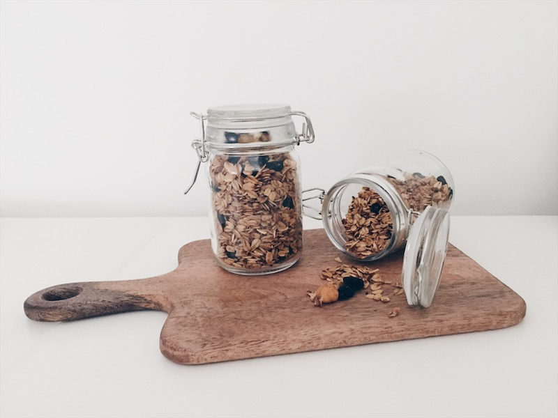 homemade granola - unicorns & fairytales