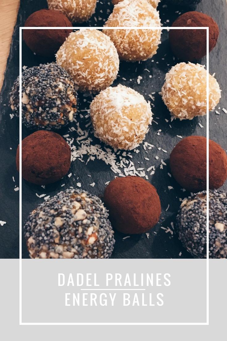 20x originele 4 - Gezonde dadel pralines, kokosballetjes of energy balls