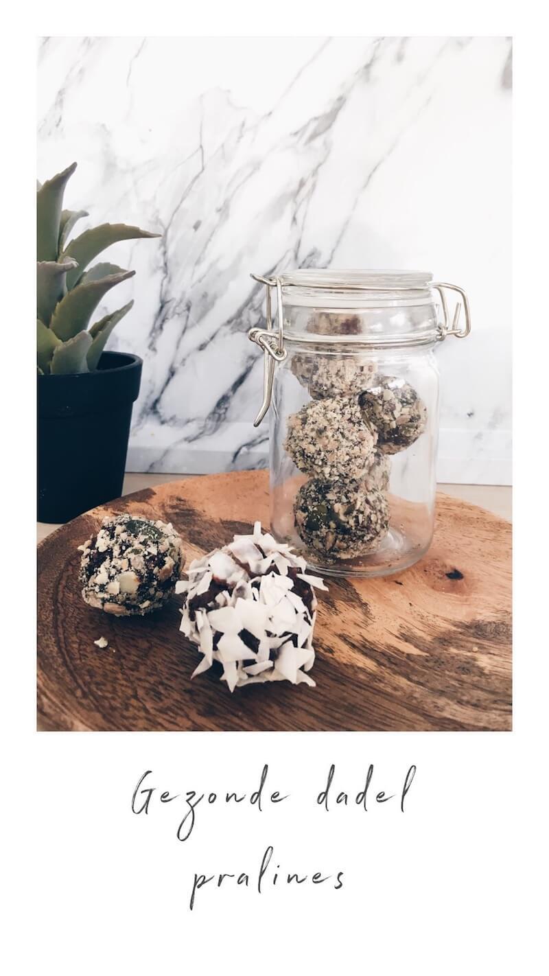 IMG 1901 - Gezonde dadel pralines, kokosballetjes of energy balls