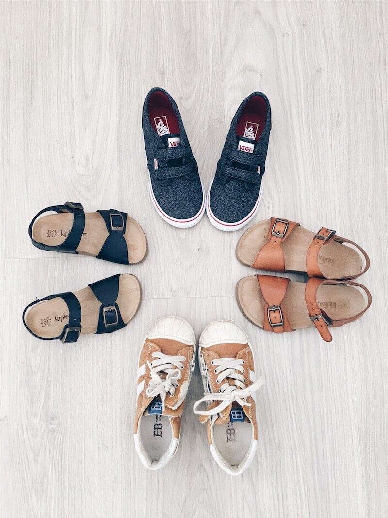 zomerschoenen 1 - 10 tips bij het kopen van schoenen voor je kind