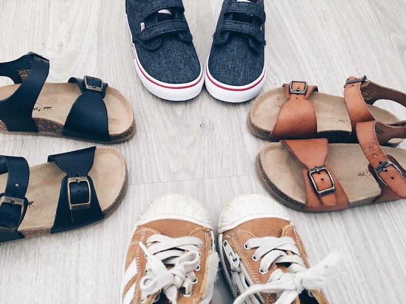 zomerschoenen 2 - 10 tips bij het kopen van schoenen voor je kind