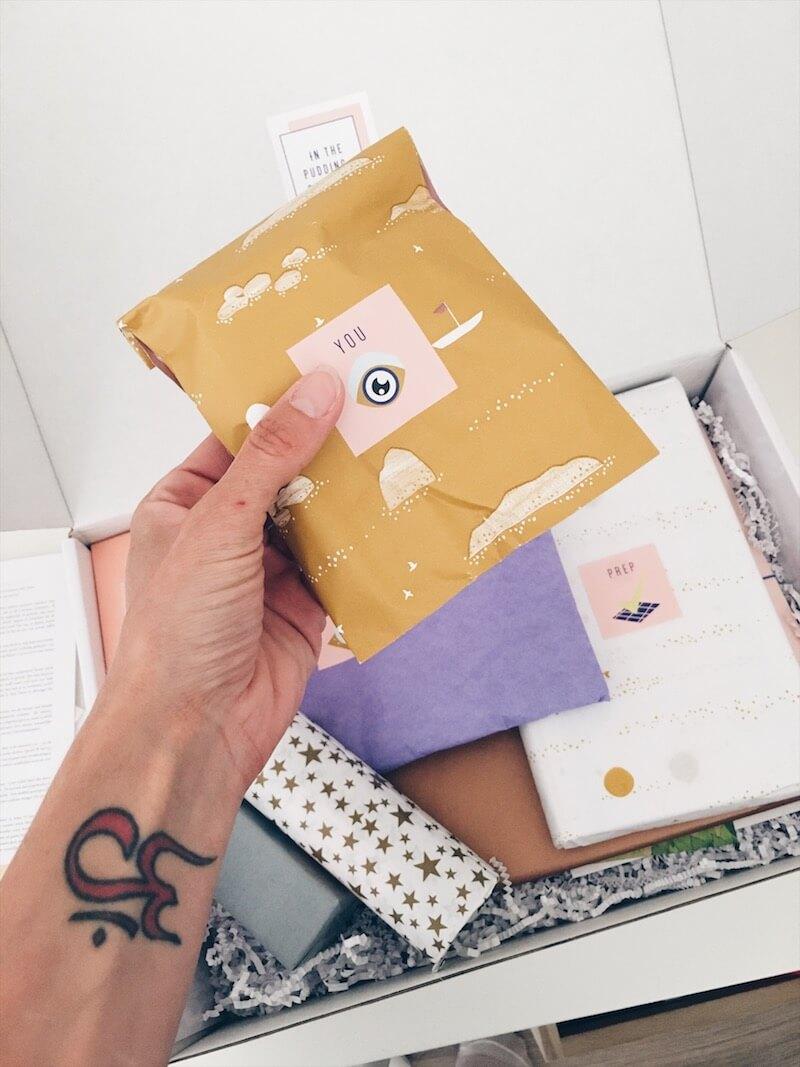 zwangerschapsdoos 6 - / Musthave / Een maandelijkse verwenbox voor zwangere vrouwen & WIN
