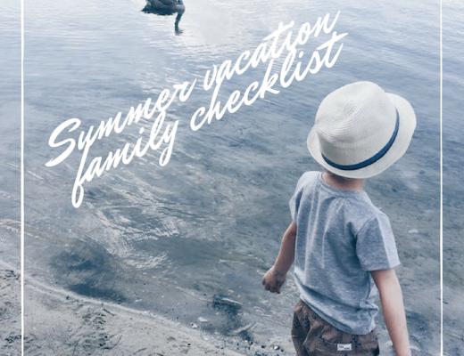 checklist vakantie - unicorns & fairytales