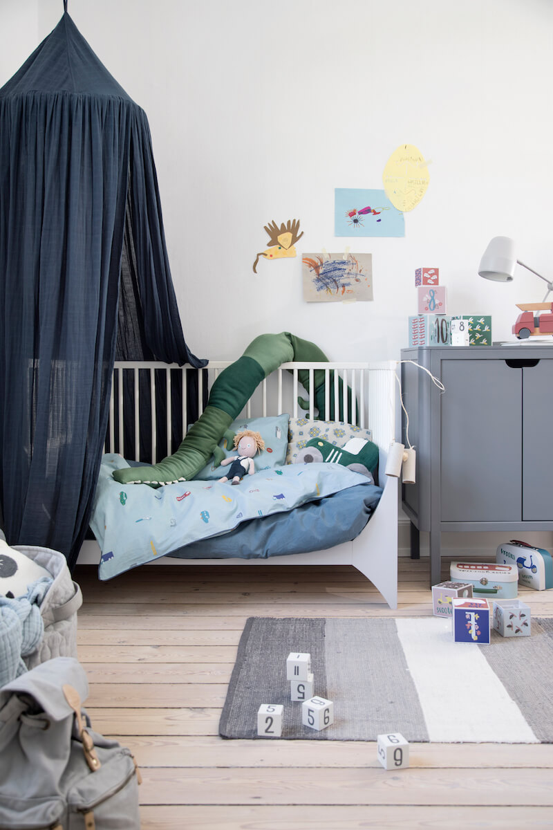 natuurlijke materialen in de kinderkamer - unicorns & fairytales