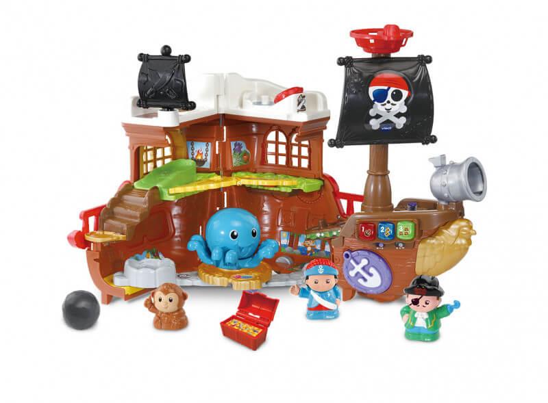 177823 piratenschip 2 1 - Win al een leuk cadeautje voor Sinterklaas: VTech dierenboot