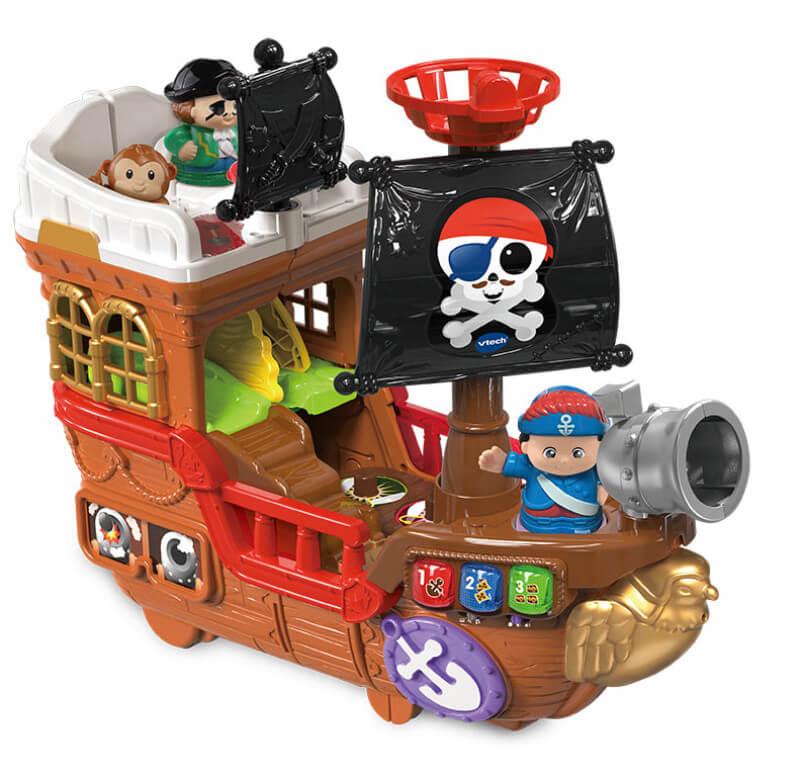 177823 piratenschip main 1 - Win al een leuk cadeautje voor Sinterklaas: VTech dierenboot