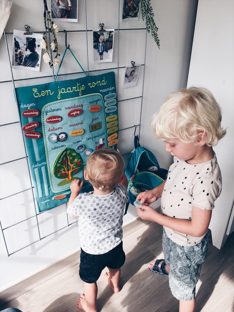 Kalender voor kinderen - unicorns & fairytales