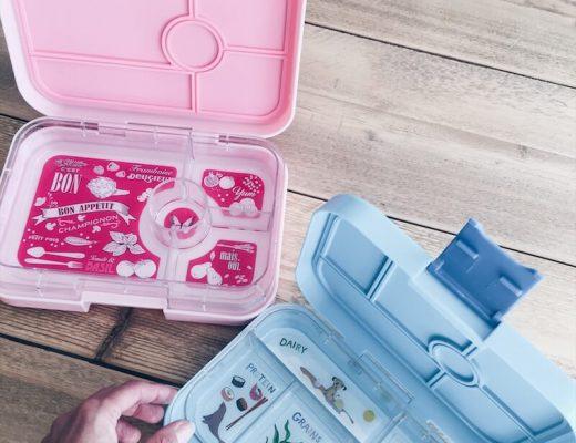 yumbox gevarieerde lunchbox - unicorns & fairytales